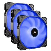 Corsair  AF Series, AF120 LED (2018), Blue Triple pack