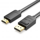 Vention DisplayPort to HDMI Cable 2M Black