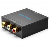 Vention HDMI to RCA Converter Black Metal Type