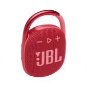 JBL Clip 4 prijenosni zvučnik BT5.1, vodootporan IP67, crveni