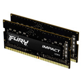 Kingston DRAM 64GB 3200MHz DDR4 CL20 SODIMM (Kit of 2) FURY Impact EAN: 740617318364