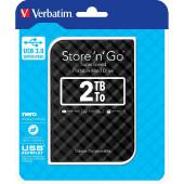 """Externi hard disk Verbatim 53195 USB 3.0 2,5"""" gen2 2TB black"""