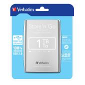 "Externi hard disk Verbatim USB 3.0 53071 2,5"" 1TB silver"