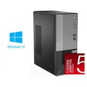 Lenovo V50t-13IMB Tower, Intel Core i5-10400, 8GB DDR4, 512GB NVMe SSD, Intel UHD, DVDRW, Windows 10 Professional (11ED0