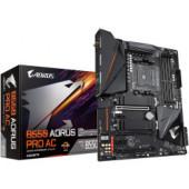 Gigabyte B550 Aorus PRO AC, S.AM4, DDR4/5100(OC), PCIe3.0, HDMI, SATA-3, M2, RAID, G-LAN, USB3.2, USB-C, 7.1ch, ATX