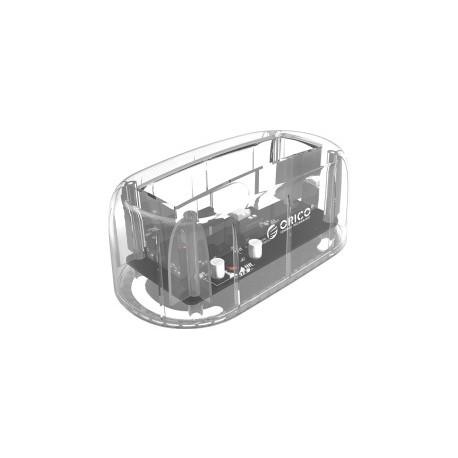 "Orico Docking stanica 3.5"" SATA HDD, USB3.1 Gen2/Type-C, prozirna (ORICO 6139C3-CR)"