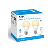 TP-Link Tapo L510E Smart Wi-Fi Light Bulb, Dimmable, E27 base, 2700K, 220V, 50/60 Hz, 60W Equivalent