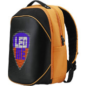 Prestigio LEDme MAX backpack, animated backpack with LED display, Nylon+TPU material, connection via