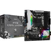 ASRock B450M Steel Legend, S.AM4, DDR4/3200MHz, PCIe3.0, M.2, G-LAN, HDMI/DP, mATX