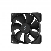 Fractal Aspect 12 Black, 120mm ventilator, crni