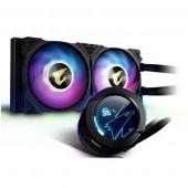 GIGABYTE AORUS WATERFORCE COOLER X240, Intel 2066, 2011, 1366, 115x, 1200, 1700, AMD TR4, AM4, sTRX4