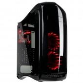 Kolink Punisher Black Midi Tower Gaming Case - USB 3.0