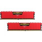 Corsair Vengeance LPX 2X8 16GB DDR4 3000MHz - red