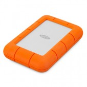 LaCie Rugged Mini Micro-USB B 3.0 (3.1 Gen 1) 1000GB Narančasto, Srebro