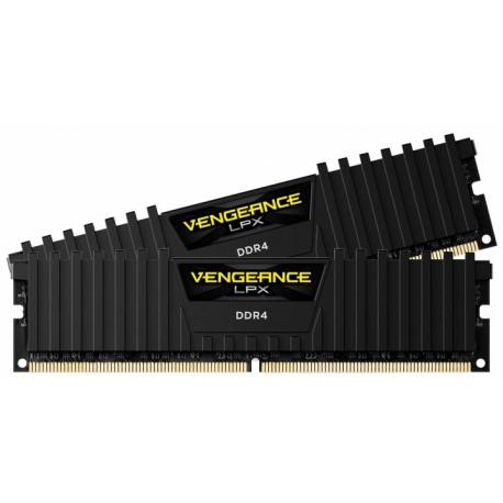 Corsair Vengeance® LPX 16GB (2x8) DDR4 3200MHz C16 black
