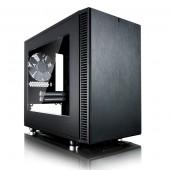 Fractal Define Nano S, crno s prozorom, ITX
