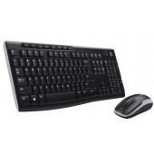 Logitech MK270, bežična tipkovnica i miš, HR