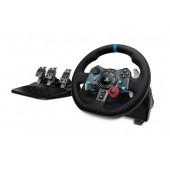 Logitech G920 Steering wheel + Pedals PC/osobno računalo Crno