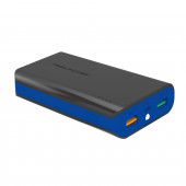 Powerbank Real Power PB6k Color Edition, 6000mAh crno-plavi