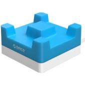 Orico 4-portni USB punjač sa držačem za smartphone, plavi (ORICO CHA-4U)