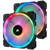 Corsair LL140 Node Pro High Performance PWM Fan (RGB), Twin P