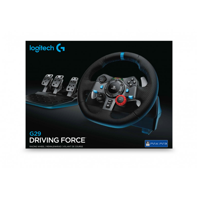 a24bb352cd1 ... Logitech G29 Volan + Papučice Playstation 3, PlayStation 4 Crno ...