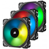 Corsair ML120 PRO RGB LED 120MM PWM Premium Magnetic Levitation Fan — 3 Fan Pack