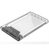 """Orico vanjsko kućište 2.5"""" SATA HDD/SSD, up to 9.5 mm, tool free, USB3.0 (S-ATA3 podržano) prozirno kučište (ORICO 2139U"""