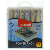 Maxell alkalne baterije LR-6/AA, 24 komada, box