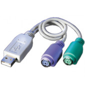 Roline VALUE adapter USB(A/M) na 2×PS/2(F)