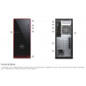 DELL Inspiron 3650 PC, Intel Core i3-6100, 6GB DDR3L, 1TB S-ATA, DVD+/-RW, Intel HD Graphics, G-LAN, Win 10 Home, tipkovnica/