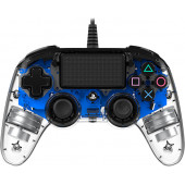 NACON PS4 TRANSPARENTEN GAMEPAD, PLAVI