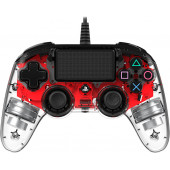 NACON PS4 TRANSPARENTEN GAMEPAD, CRVENI