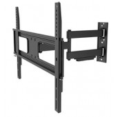 Transmedia Full-Motion Flat Screen Wall Bracket For flat screens (94 - 178 cm), Black