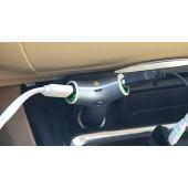 Port auto punjač 2XUSB i punjiva baterija 2200 mAh