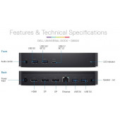 Dell Dock D6000 - Universal EU