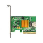 HighPoint RocketRAID 2710 SAS/SATA 6Gb/s 4-Channel PCI-E x8 RAID Controller, Retail