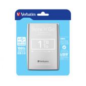 """Verbatim 2.5"""" Smart Disk 1TB HDD, USB3.0, srebrni"""