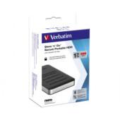 "Verbatim 2.5"" Store'n'Go Secure 1TB HDD, USB3.1 GEN1, AES 256-bit hardware enkripcija, zaštita pristupa tipkovnicom"