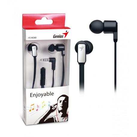 Genius HS-M260IG,in-ear headset,željezno-sive