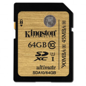 Kingston SDA10 U1, R90MB/W45MB, 64GB