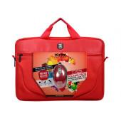 """Port torba Polaris 15.6"""", crvena + miš"""