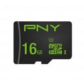 Memorijska kartica PNY MicroSDHCTM Čitanje: 100MB/s, Pisanje: 20MB/s Performance  16GB, s 1 adapterom class10