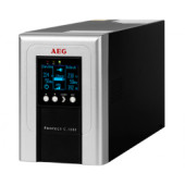 AEG UPS Protect C 1000VA/900W, VFI, On-line double conversion, floor standing, automatic bypass, RS232 interface