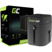 Green Cell putni strujni punjač sa 2× USB (AK40)