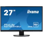 "IIYAMA 27"" ProLite X2783HSU-B3 16:9 Full HD (1920×1080) AMVA+ LED TFT, 4ms, 300 cd/m2, VGA/HDMI/DP, USB2.0×2, HDCP, zvučni"