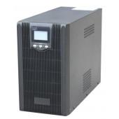 Gembird 2000VA pure sine wave UPS, LCD display, USB, black