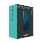 Logitech MX Anywhere 2S, bežični miš, plavi