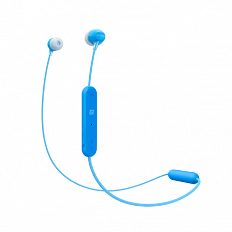 Sony WI-C300, in-ear, Bluetooth/NFC, plave