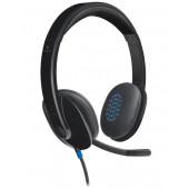 Logitech H540 slušalice s mikrofonom, USB, crna